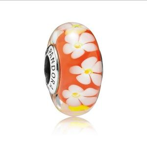 Pandora Tropical Flower Murano Charm